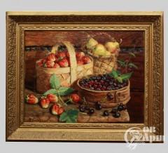"Картина ""Натюрморт с фруктами"""